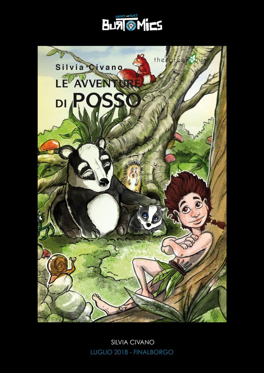 Le avventure di Posso a Burtomics. Silvia Civano
